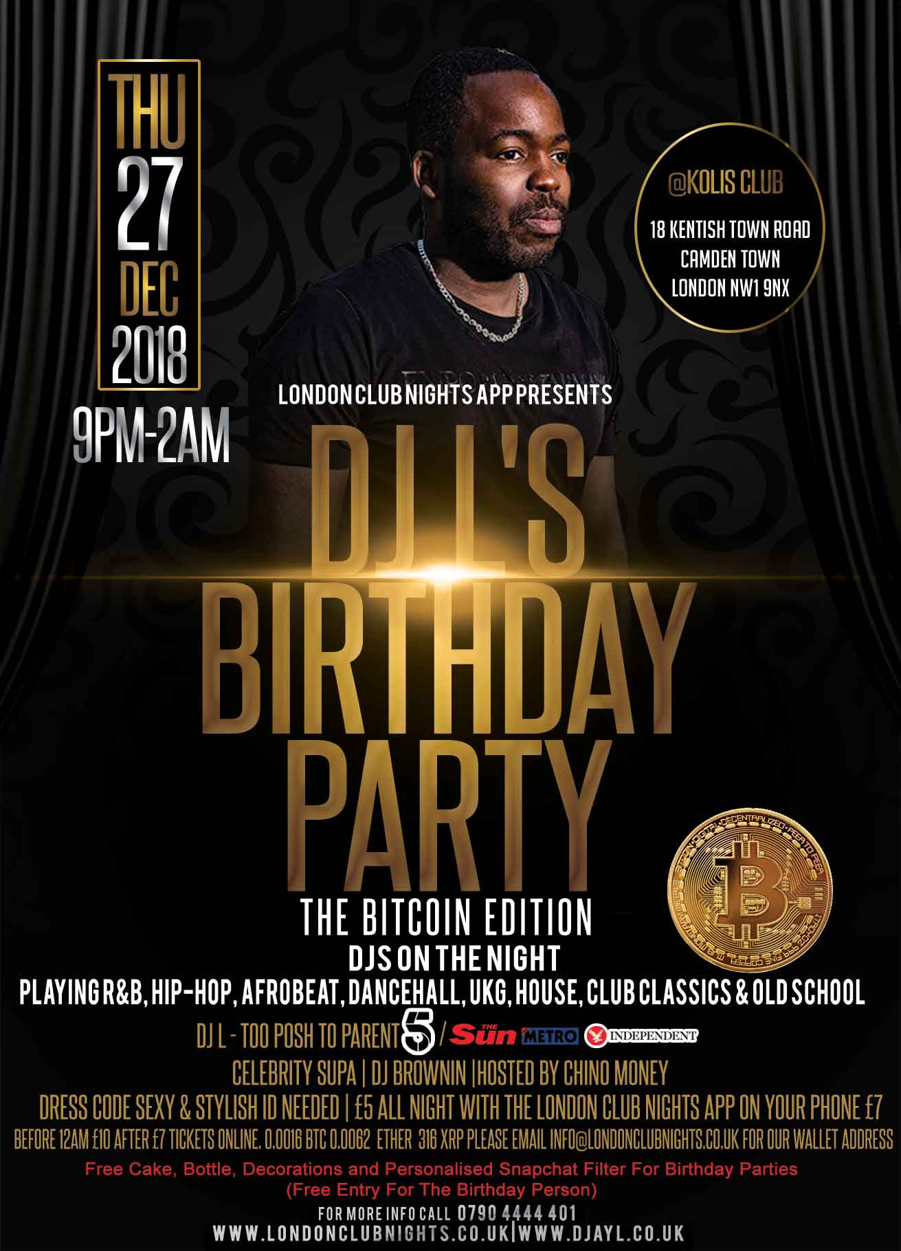 DJ L's Birthday Party